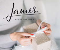 JAMES Keuzecadeaus